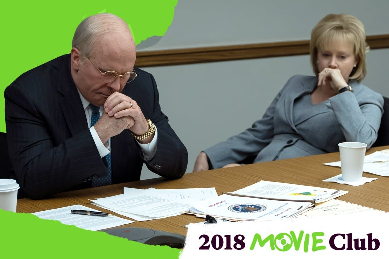Christian Bale stars as Dick Cheney and Amy Adams stars as Lynne Cheney in Adam McKay's Vice.