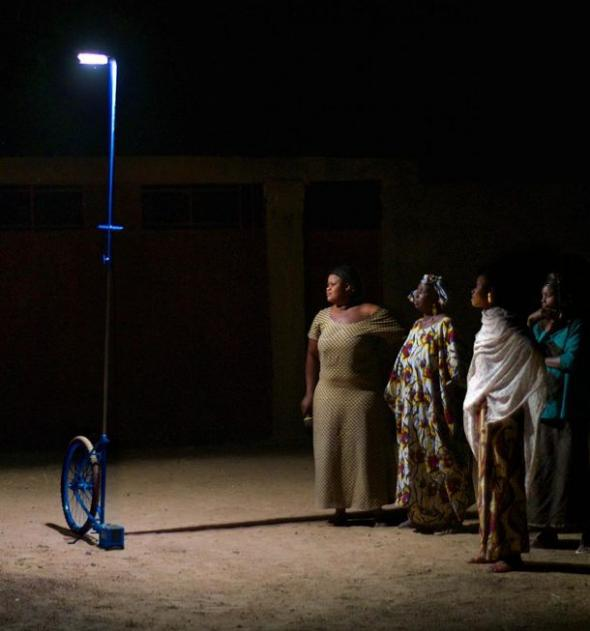 When a women's collective first encounters a Foroba Yelen portable lamp, reactions can range from suspicion to curiosity to delight.