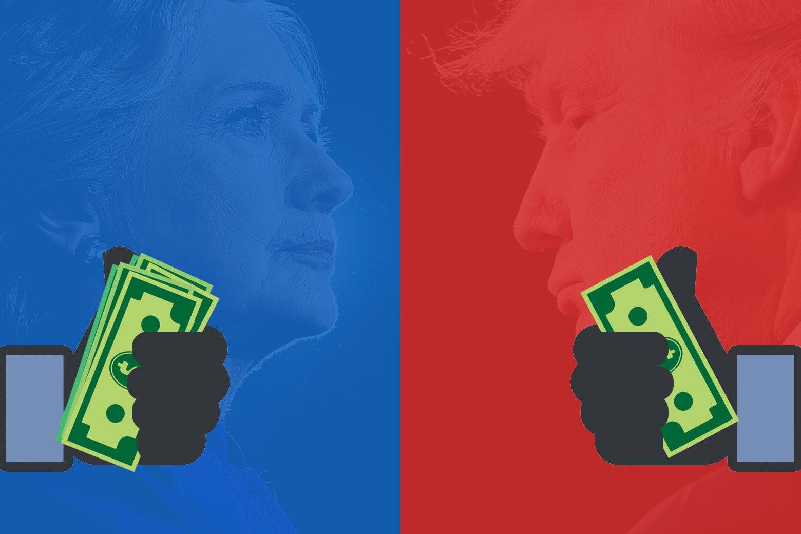 Political ad money.
