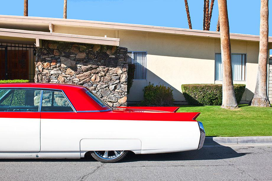 Red and White Classic Ride from Palm Springs, 2011