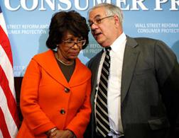 Maxine Waters and Barney Frank. Click image to expand.