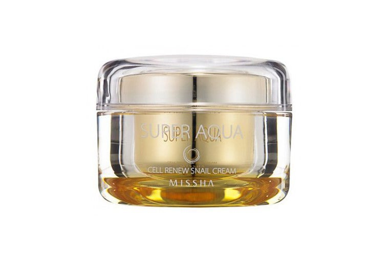 MISSHA Snail Aqua Cell Renew Sleeping Pack.