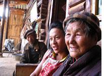 Joe and Grandmother. Click image to expand.