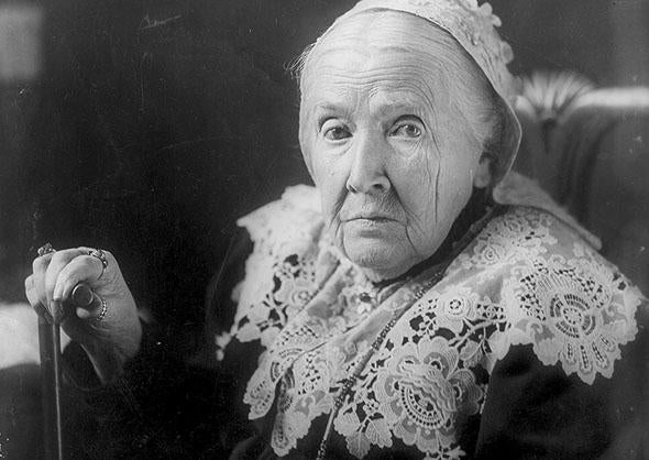 Julia Ward Howe, circa Apr. 27, 1908.