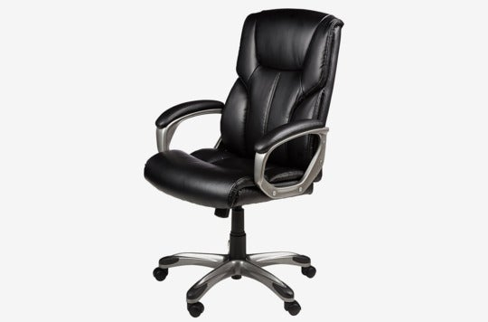 AmazonBasics executive chair.