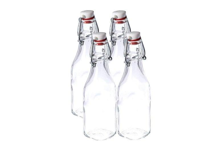 Bormioli rocco glass swing-top bottle.