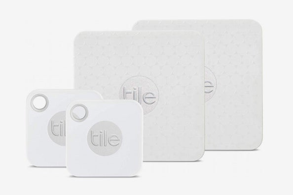 Tile Mate with Replaceable Battery and Tile Slim – 4-Pack.