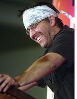 David Foster Wallace in 2002. Click image to expand.