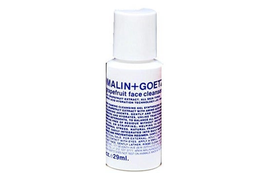 Malin + Goetz bottle.