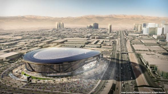 Las Vegas lures the Oakland Raiders with a record-breaking