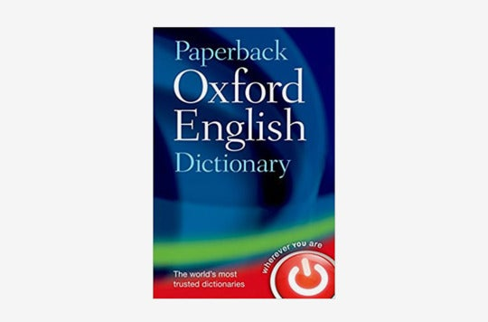 Oxford English Dictionary.