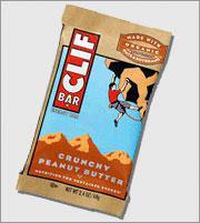 Crunchy Peanut Butter Clif Bar.