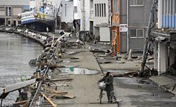 Damage in Japan. Click image to expand.