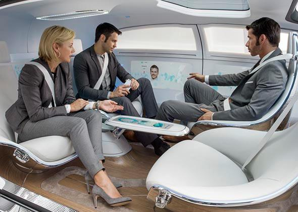 Mercedes-Benz F 015 Luxury in Motion.