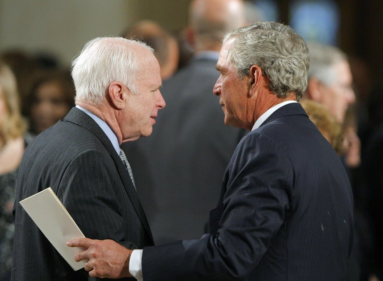 McCain Requested Obama and George W. Bush Deliver Eulogies at His Funeral