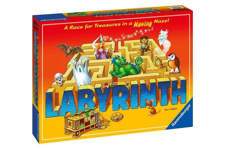 Labyrinth board game box.
