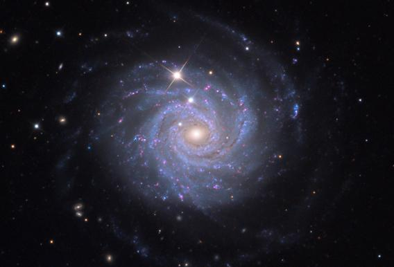 NGC 3344 photographed by Adam Block