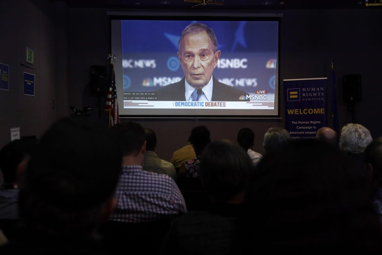 Here's How the Bloomberg Campaign Presented His Disastrous Debate as a Success
