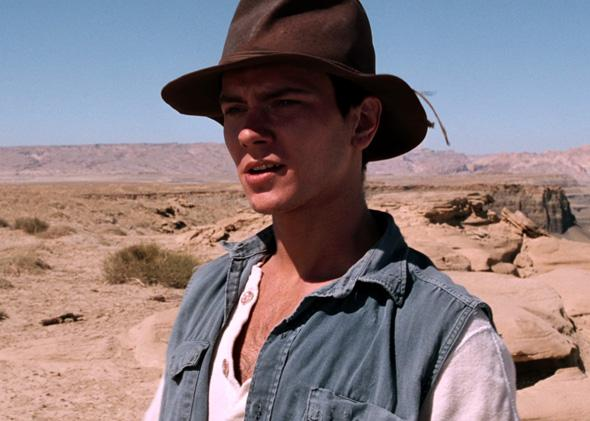 River Phoenix in his final film, Dark Blood.
