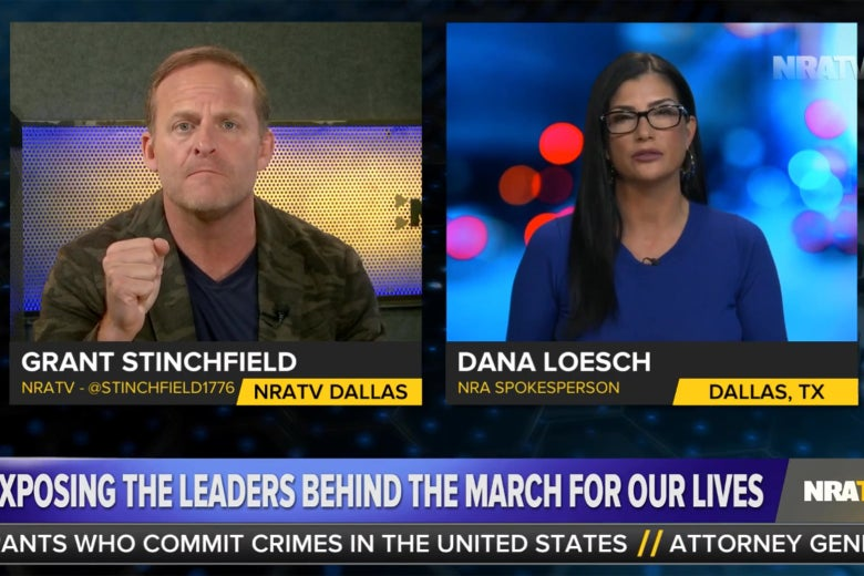Grant Stinchfield and Dana Loesch discuss the March for Our Lives on NRA TV.