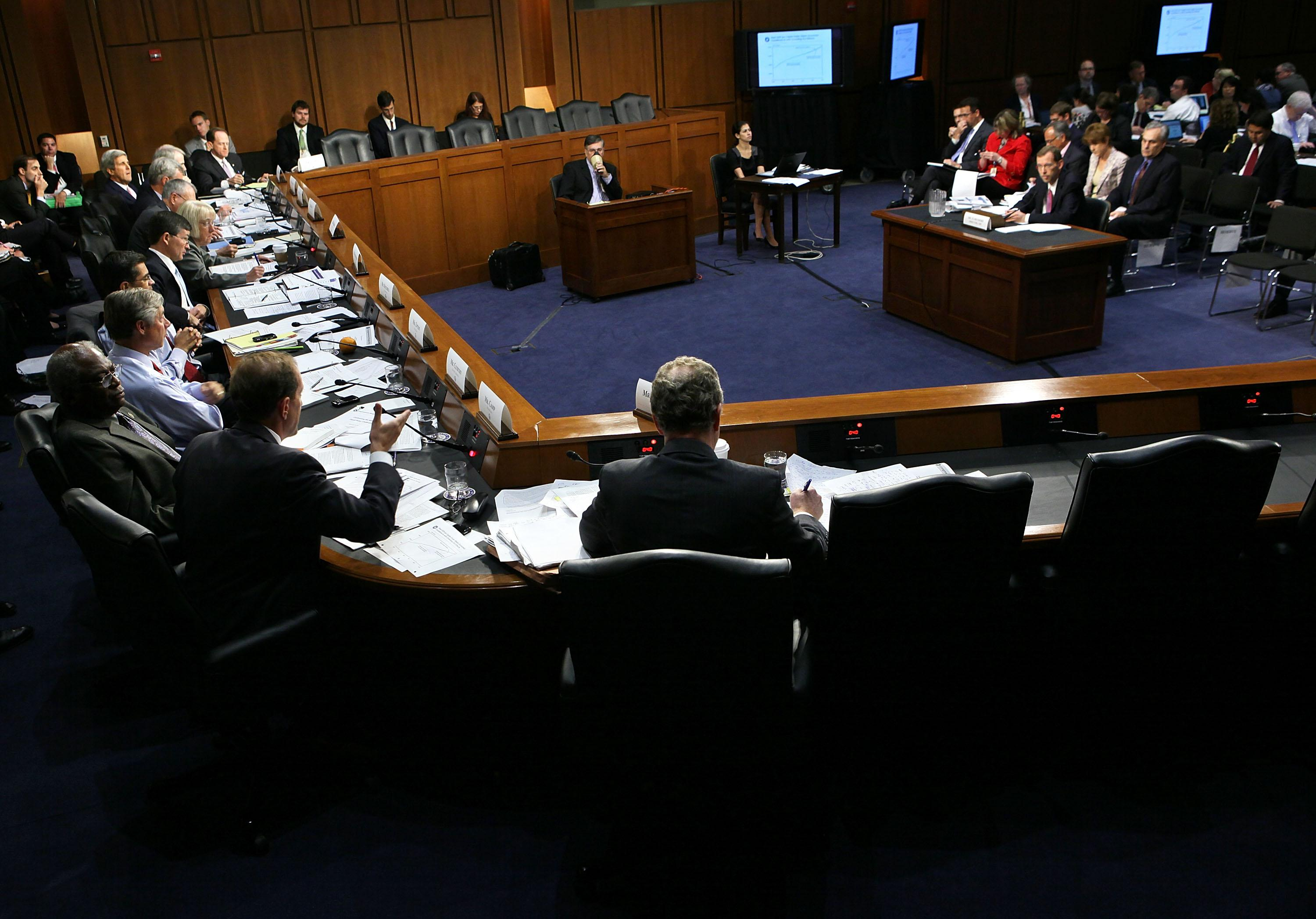 The Joint Deficit Reduction Committee, also known as the supercommittee.