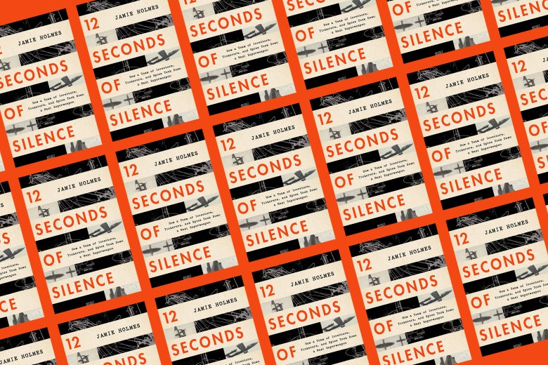 A collage of the cover of the book 12 Seconds of Silence.