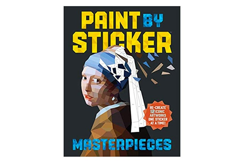 Cover of Paint by Sticker Masterpieces.