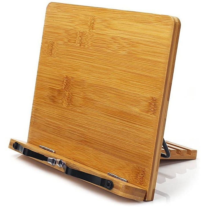 Bamboo bookstand