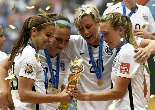 70245693ebd USWNT wins FIFA Women s World Cup  How the 1999 United States team ...