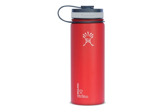 Hydro Flask Insulated Wide Mouth Stainless Steel Water Bottle.