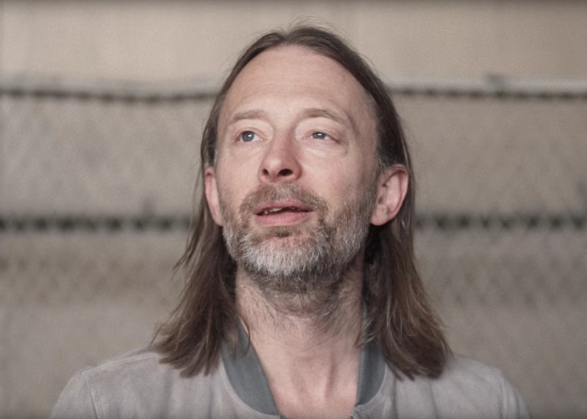 "Thom Yorke in ""Daydreaming"""