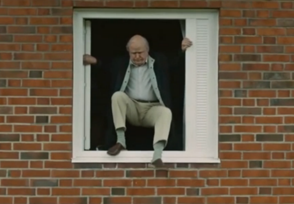 The titular 100-year-old man who climbed out the window.