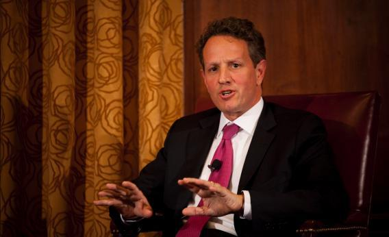 U.S. Treasury Secretary Timothy F. Geithner