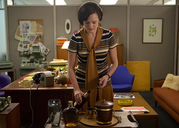 Elisabeth Moss as Peggy Olson.
