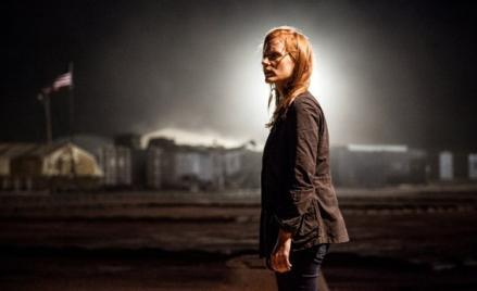 Jessica Chastain in Zero Dark Thirty.