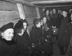 Hanging in a bomb shelter. Click image to expand.