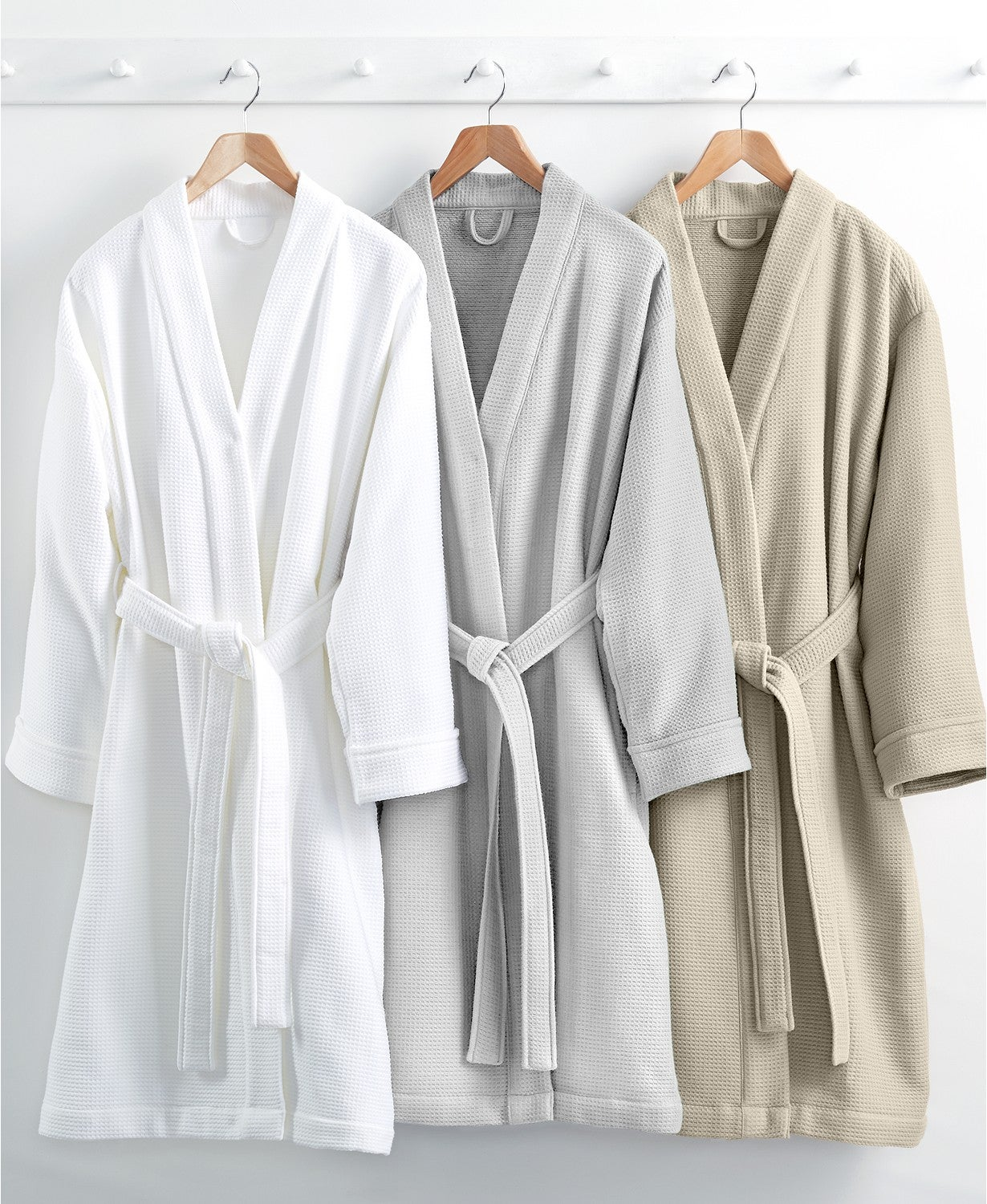 Macy's Hotel Collection Waffle Weave Robe