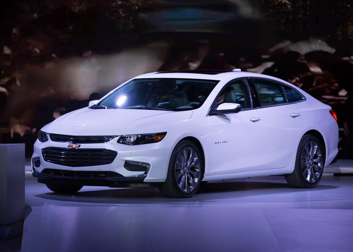 New Chevy Malibu 2015