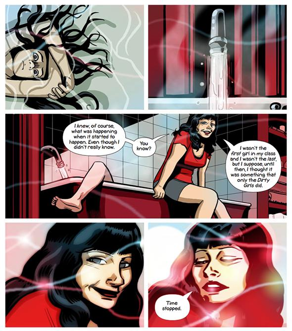 Panels from Sex Criminals.