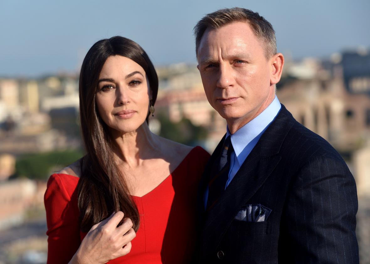 Monica Bellucci Says That In The Upcoming James Bond Film