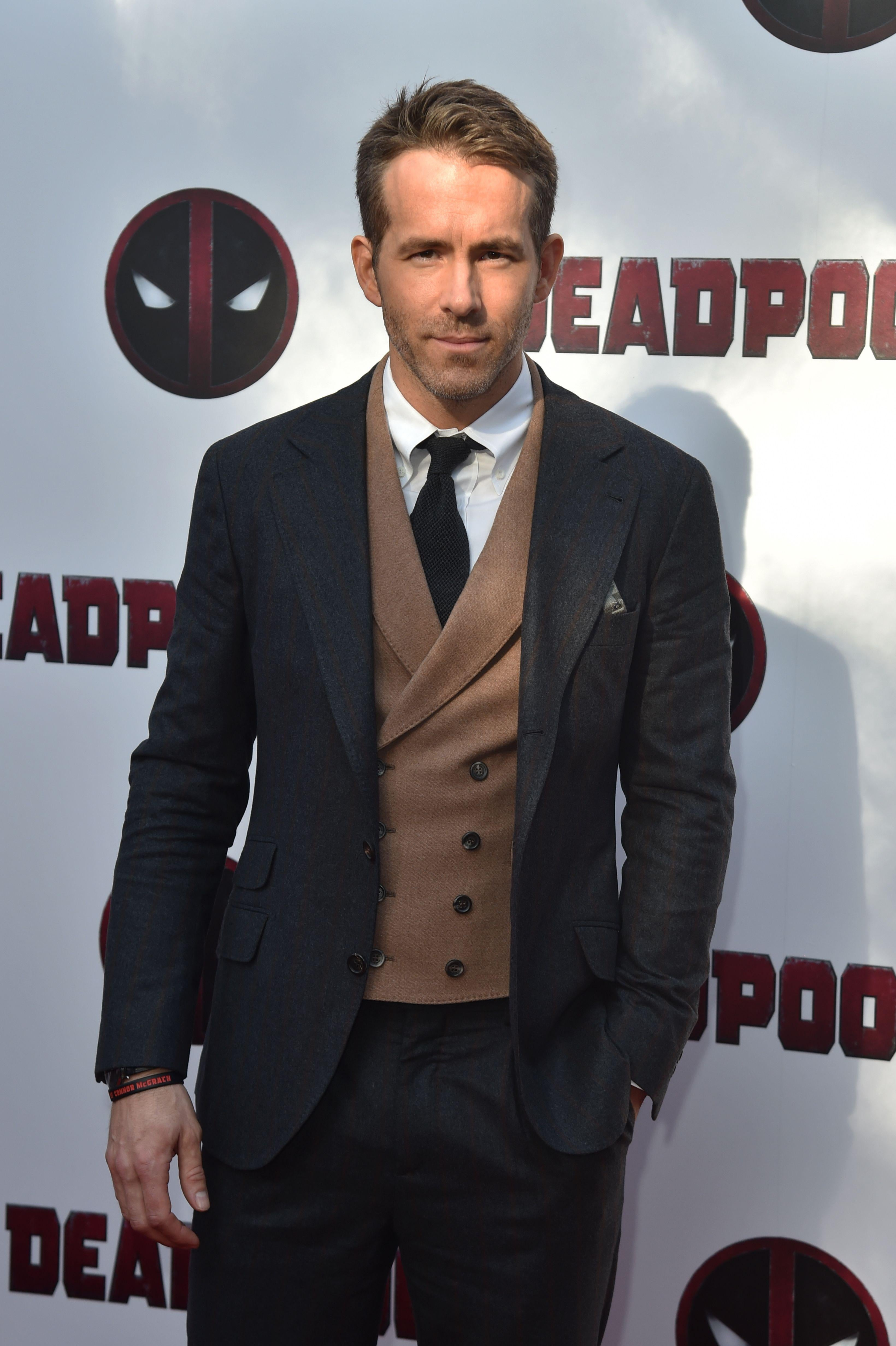 Actor Ryan Reynolds attends a speial screening of Deadpool 2 in New York City on May 14, 2018.
