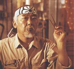 Mr. Miyagi (Pat Morita)