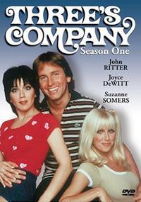 Three's Company DVD cover.