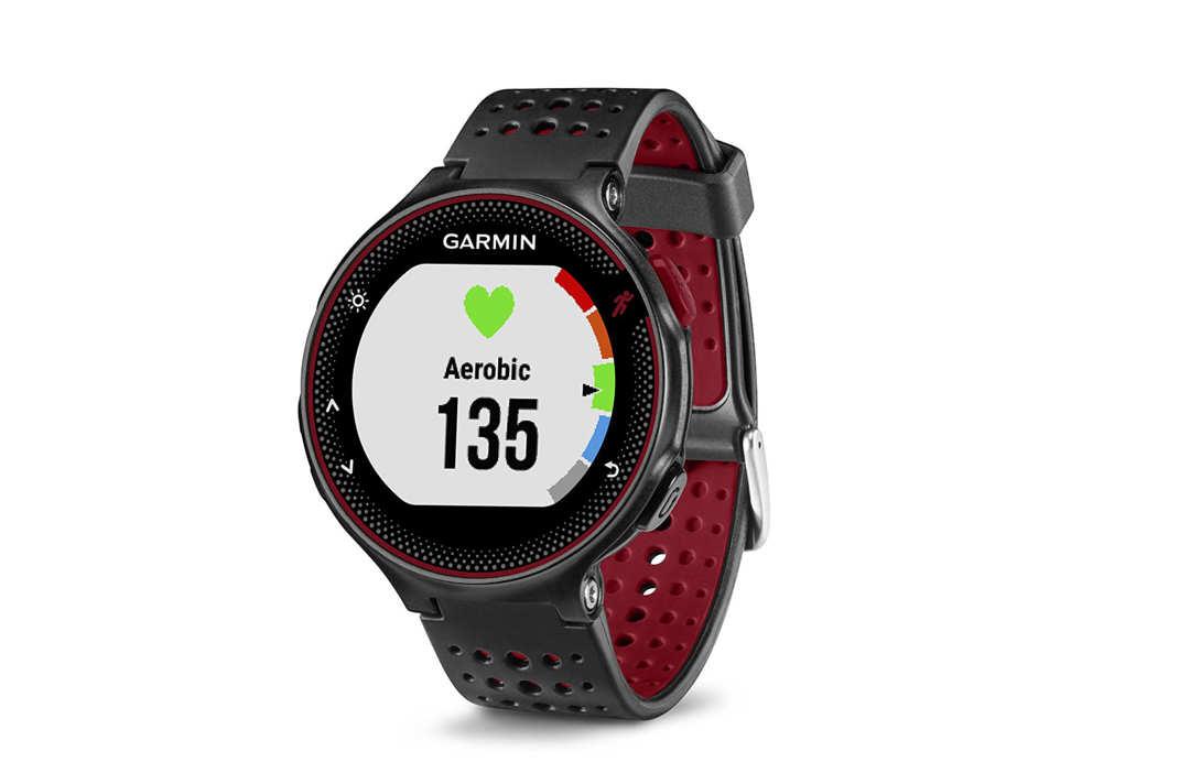 Garmin Forerunner fitness watch.