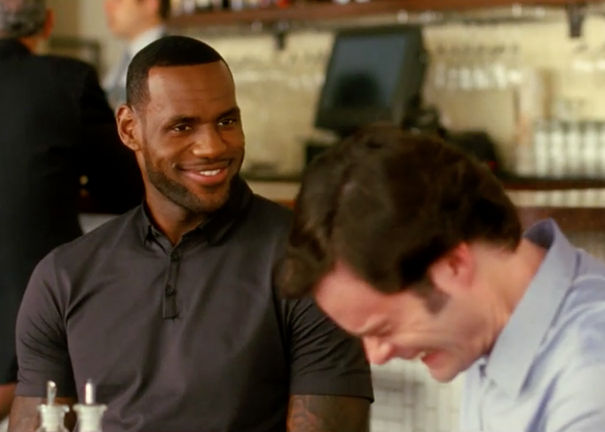 563dc0f17f71 Trainwreck outtakes  LeBron James steals the show once again in improv bits  (VIDEO).