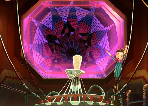 Screenshot of Broken Age.