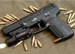 FN-Herstal 5.7mm handgun.