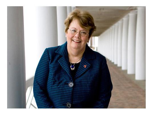 Teresa A. Sullivan President of the University of Virginia.