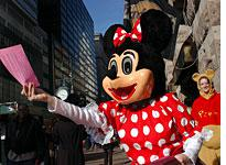 Minnie Mouse might just be an intern. Click image to expand.