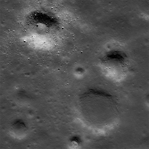 Craters on the Moon, young and old